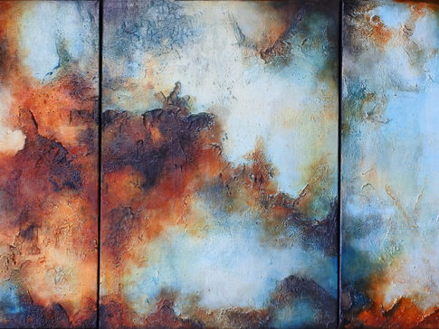 Triptych in Abstract