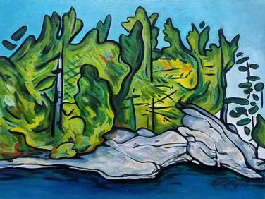 Lake Side Drawings no.1