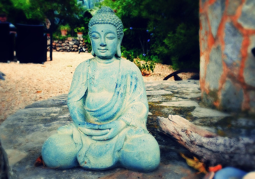 From my trip to Mallorca. Buddha at the airbnb.