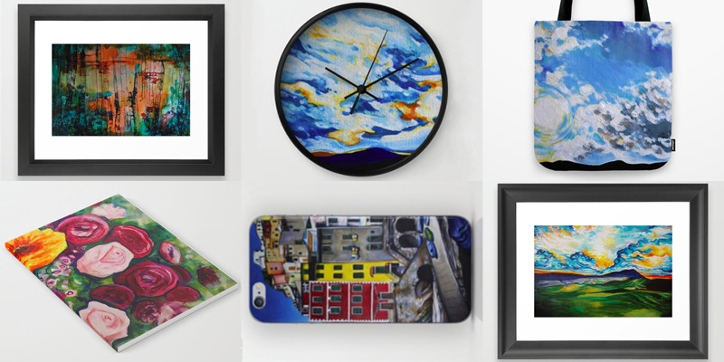 More products at society6.com/raquelaurini