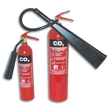 2 kg CO2 Extinguisher - Sentinel Aluminium