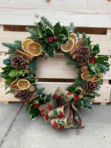 Fruit and Nut Wreath