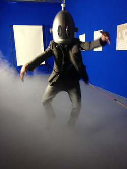 robot in the mist, 2014