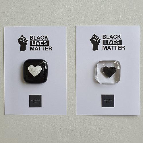 Black Lives Matter - Pocket Heart Token