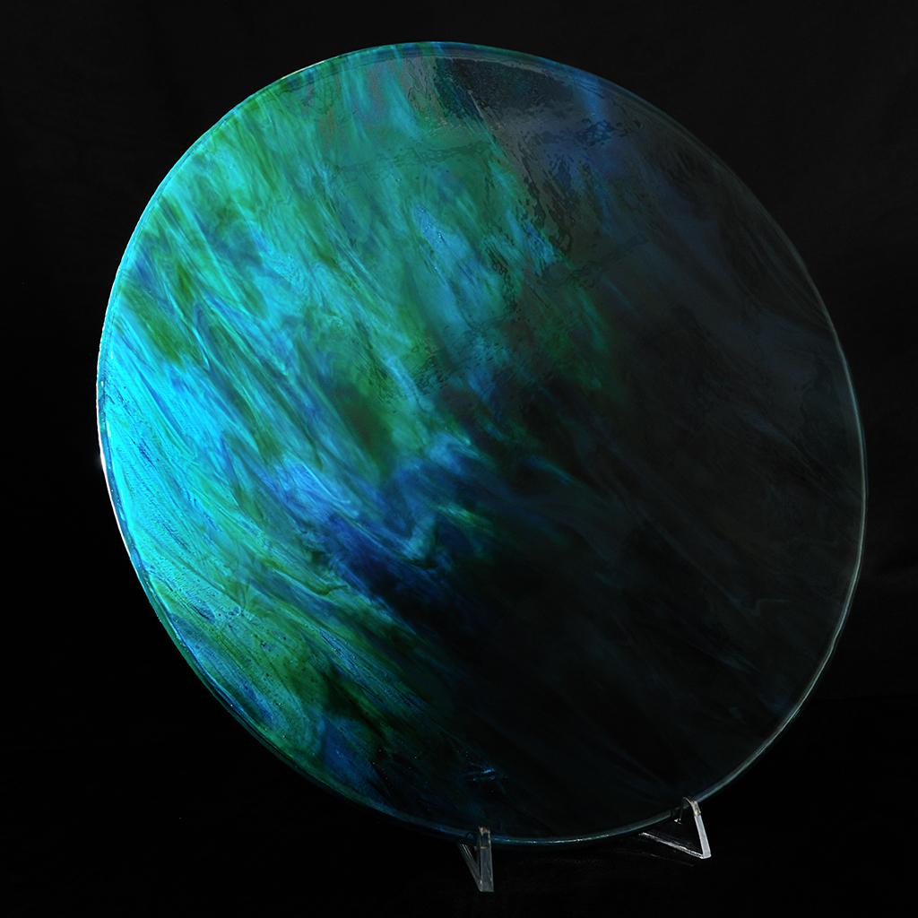Jon Piccolo Glass Mysterious Earth Bowl