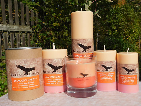 Aromatherapy Pillar Candles