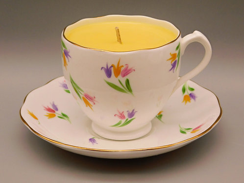 Roslyn Fine Bone China Cup & Saucer