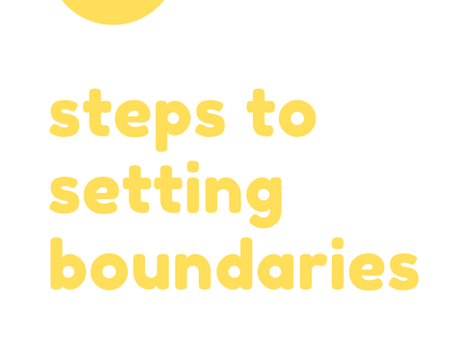 5 Steps to Setting Boundaries
