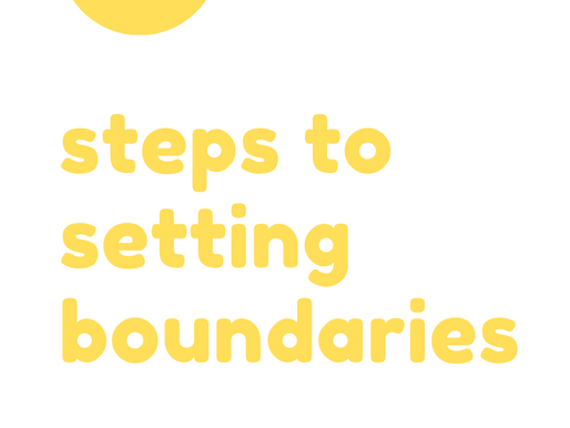 5 Steps to Setting Boundaries