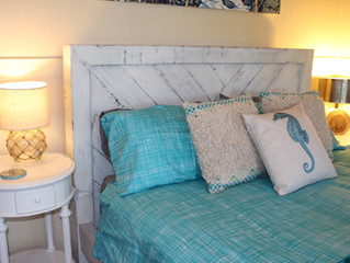 Beautiful White Rustic Recycled Timber Beds by Wildwood Designs Sydney