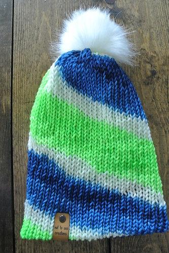 Hawks knitted beanie