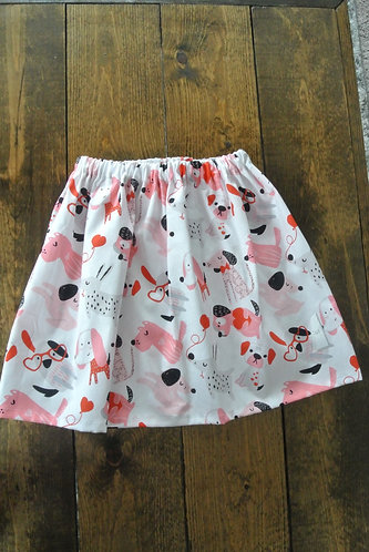 Doggy love skirt size 5