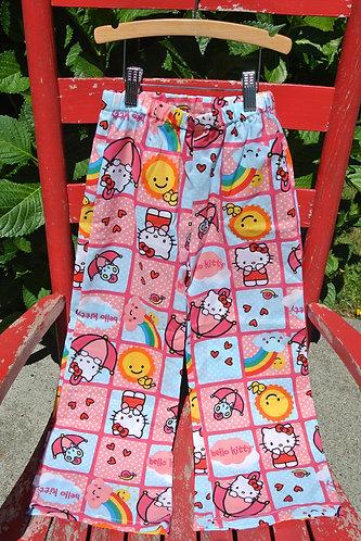 Hello Kitty kids pajama pants size 6