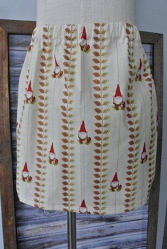 Gnomes!  Skirt size 4
