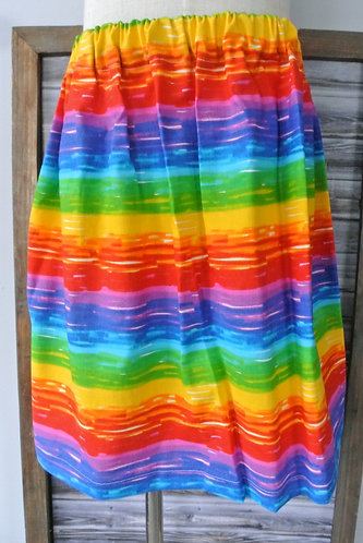 rainbow skirt size 6