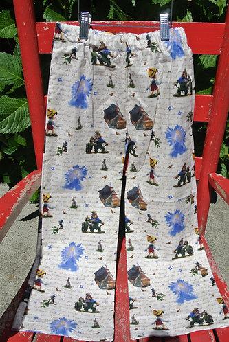Pinocchio kids pajama pants size 5