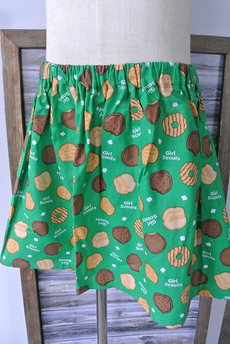 Girl Scout cookies skirt size 8