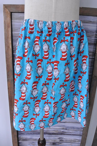 Cat in the hat skirt size 5