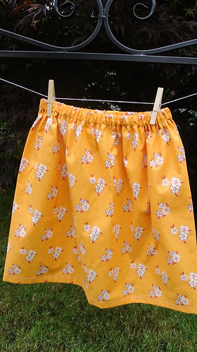 Oliver + S girls skirt 7/8