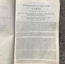 Family Bible leather bound King James Version (Image 2/2).jpg