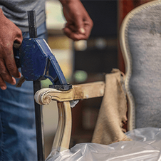 Furniture repair certificate Good for that furniture repair you've been thinking about forever.  Chair re-glue, touch up, you name it. A $250 value! Minimum bid:  $100 *certificate not valid for previously confirmed projects.