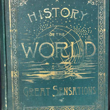 The History of the World, etc. etc. about the turn of the (last) century Hardbound (Image 1/2)