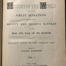 The History of the World, etc. etc. about the turn of the (last) century Hardbound (Image 2/2)