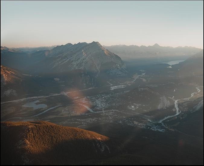 Bird's Eye Banff