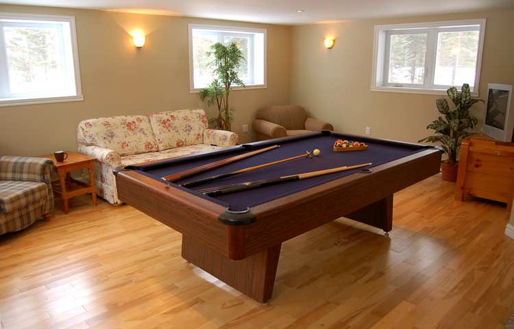 Pool table and Ping Pong