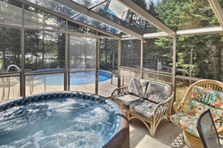 Spa year round.  Pool July/Aug only