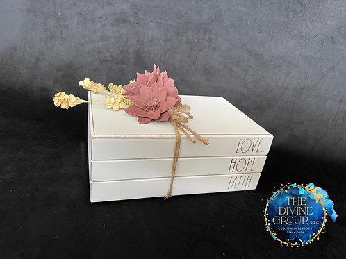 LOVE HOPE FAITH BOX