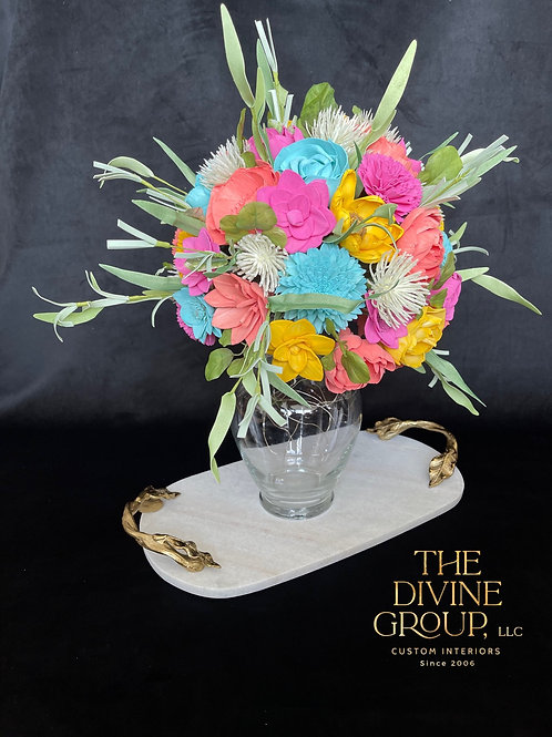 SPRING IS IN THE AIR BOUQUET VASE TOPPER