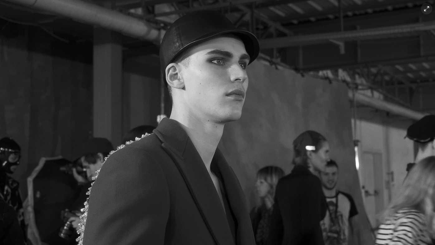 Purple Fashion Magazine | BEHIND THE SCENES AT MOSCHINO FETISH MEN'S F/W 2018 COLLECTION