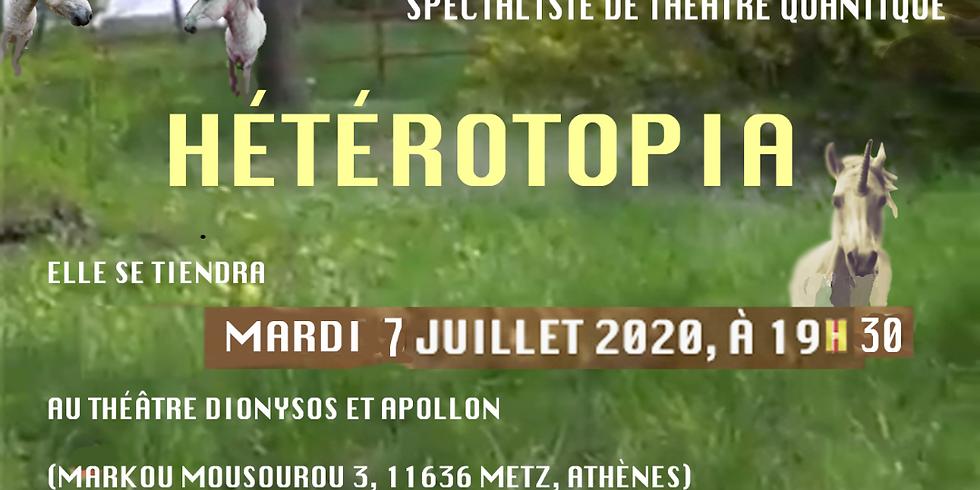 "Conférence ""Hétérotopia"" par Alistair Martin"