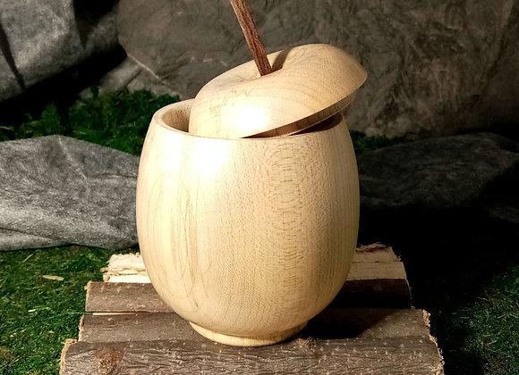 Boîte pomme en Érable