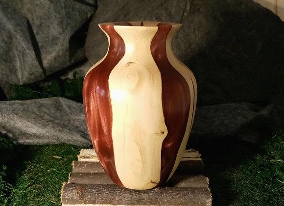 Vase en Buis et résine