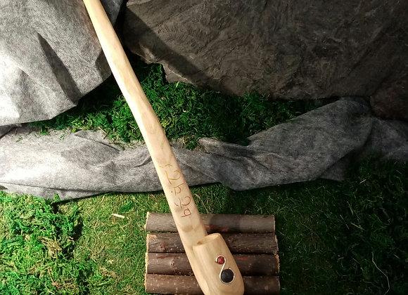Pipe décorée en Frêne