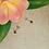 Thumbnail: Boucles d'oreilles Argent Oeil de tigre