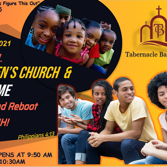 Children's Church and Teen Time   (1)