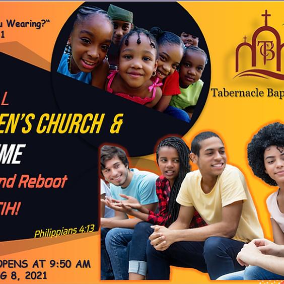 Virtual Children's Church & Teen Time