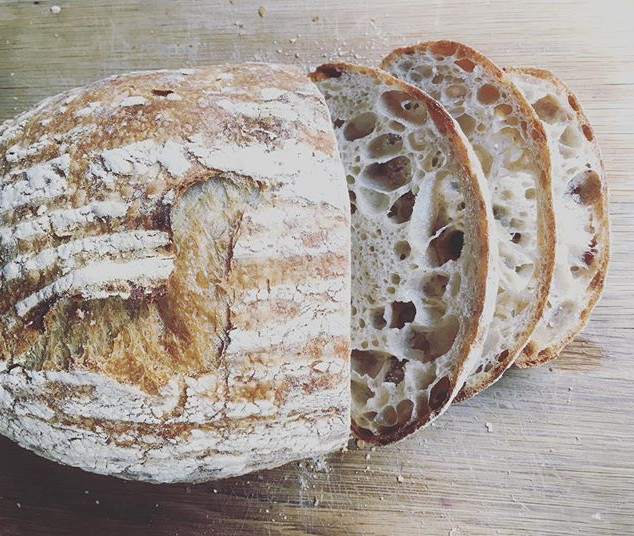 Nice day, nice bread__#sourdough #baking