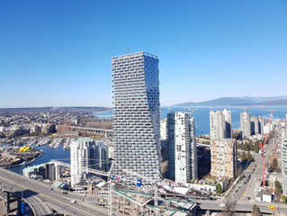 SMT scanning Vancouver's new signature skyscraper, Vancouver House