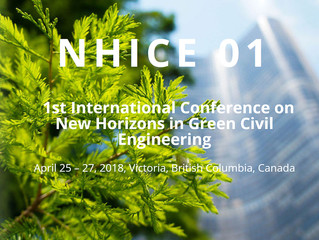 NHICE 01 (New Horizons in Green Civil Engineering) Conference