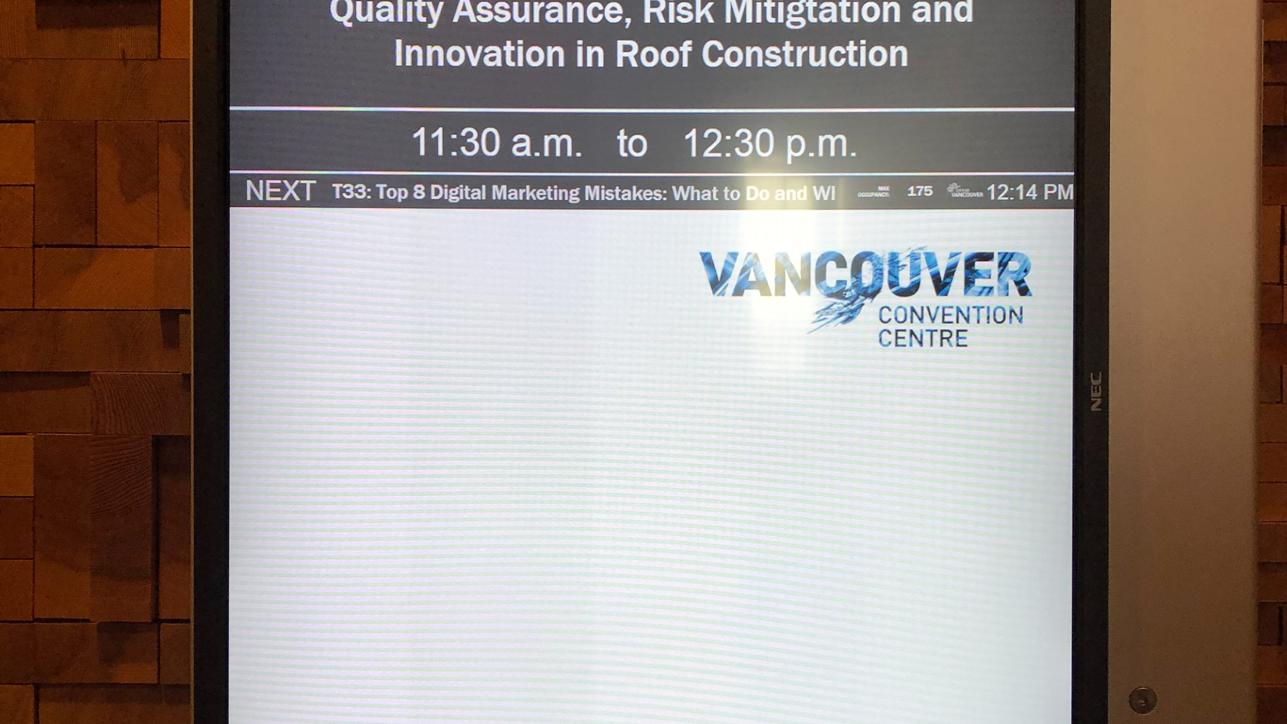 SMT and RCABC at BUILDEX 2019