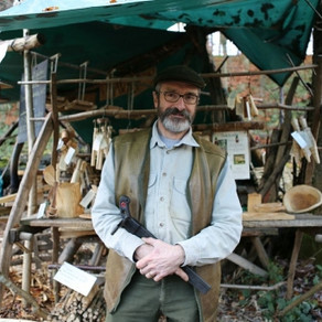 Green woodworking courses at Bolton Abbey, Yorkshire Dales National Park