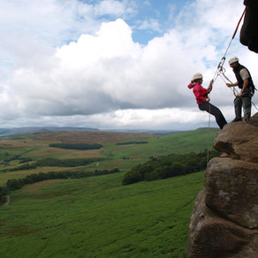 Outdoor adventure activities in the Peak District