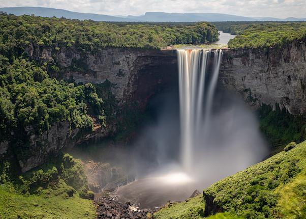 The spectacular Kaieteur Falls