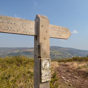 Hiking the Coleridge Way, Exmoor National Park