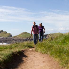 Walking Gower's Coastal Path