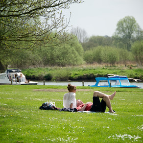 A green holiday in the Broads National Park
